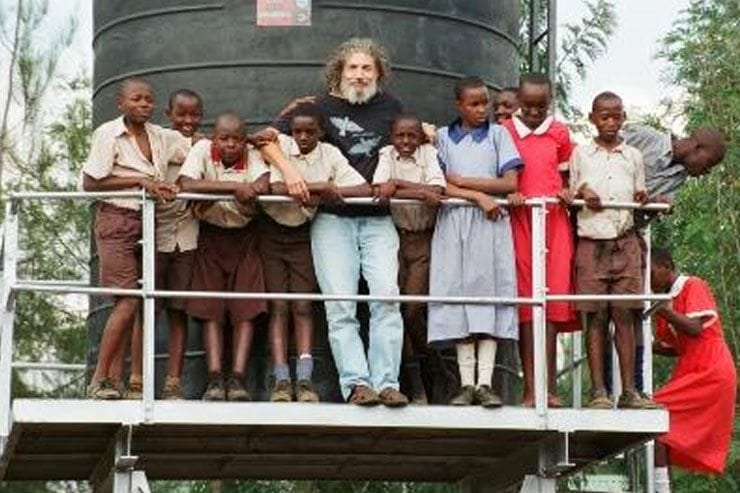 Aldo Magazzeni, founder of Traveling Mercies international relief organization