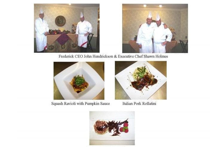 Chef's Dinner with special guest Chef CEO John Hendrickson