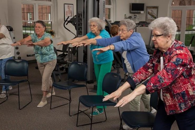 Live Well at Frederick during Active Aging Week