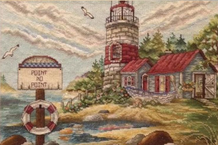 Frederick Resident, Al Neff's Cross Stitch and Needlepoint