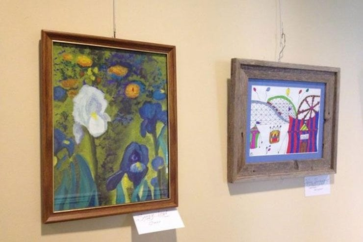 Resident and Staff Art Show at Frederick Living