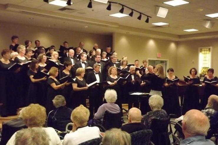 Valley Choral Society visits Frederick