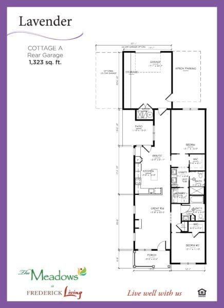 lavendar floorplan