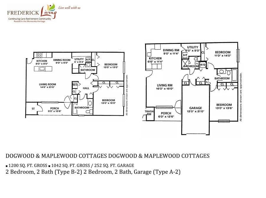 dogwood apartment floor plan