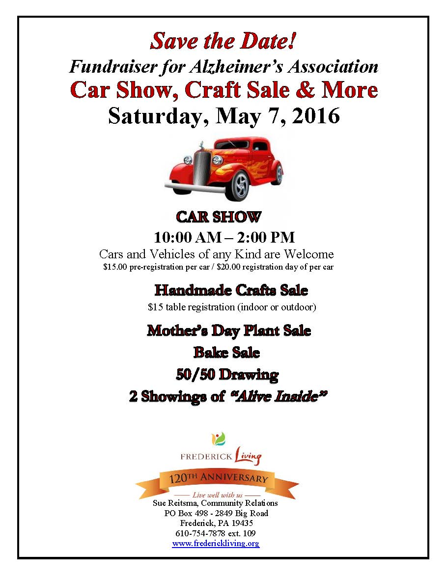Annual Car Show and Craft Fair