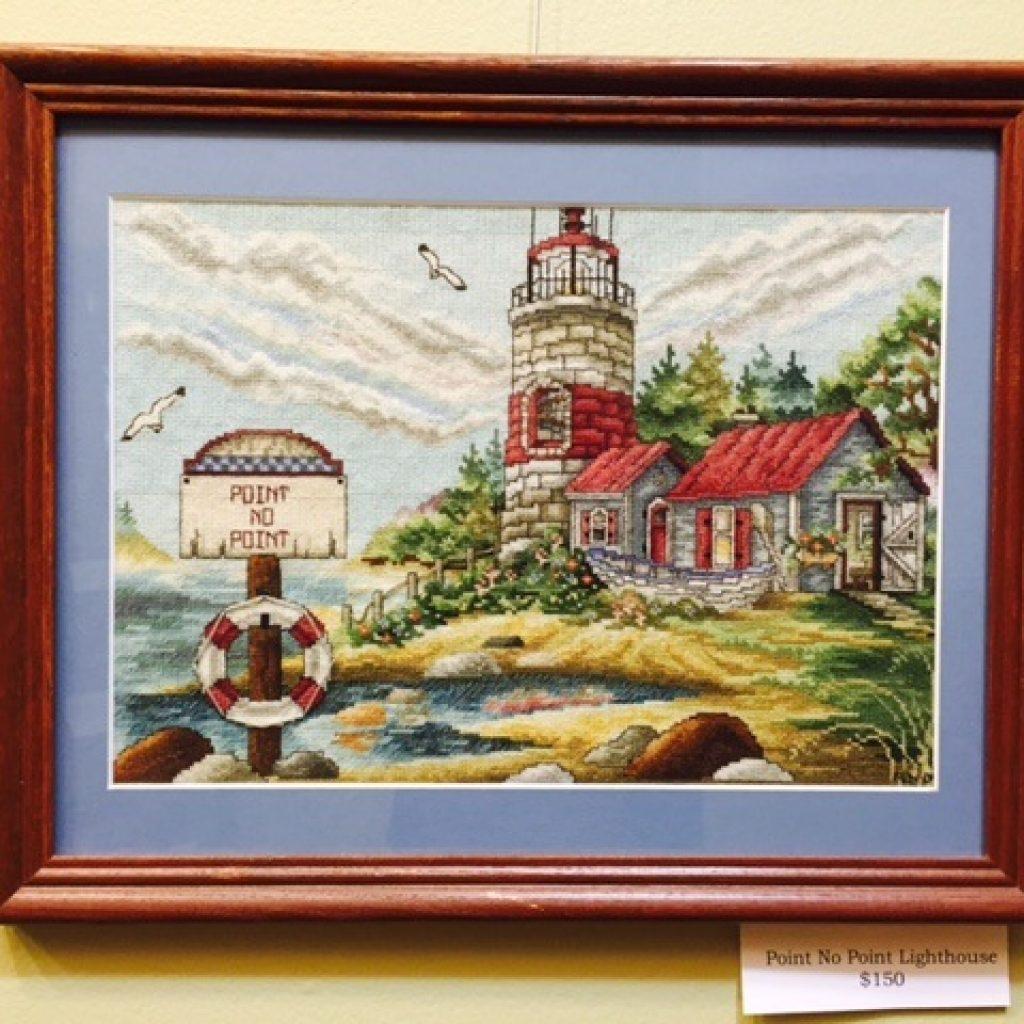 Cross Stitch and Needlepoint  – Resident Art