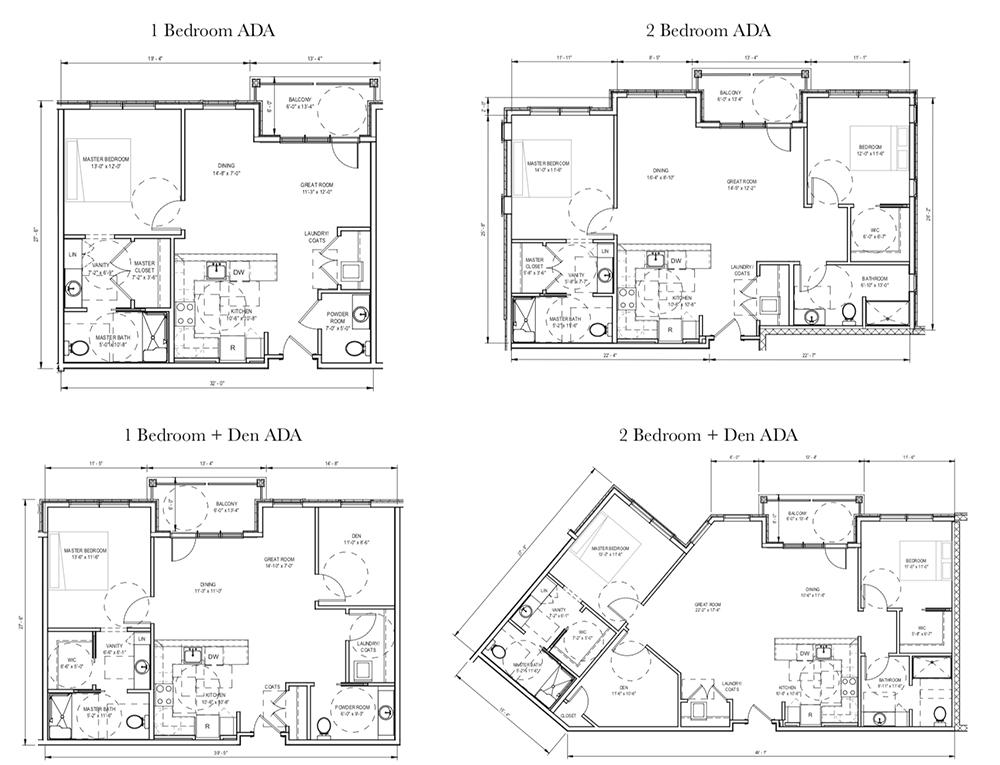 ADA Floor Plans