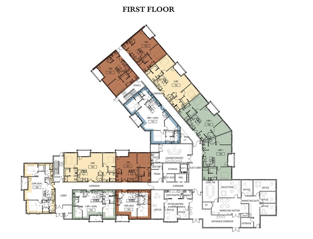 First Floor Garden Court Apartments