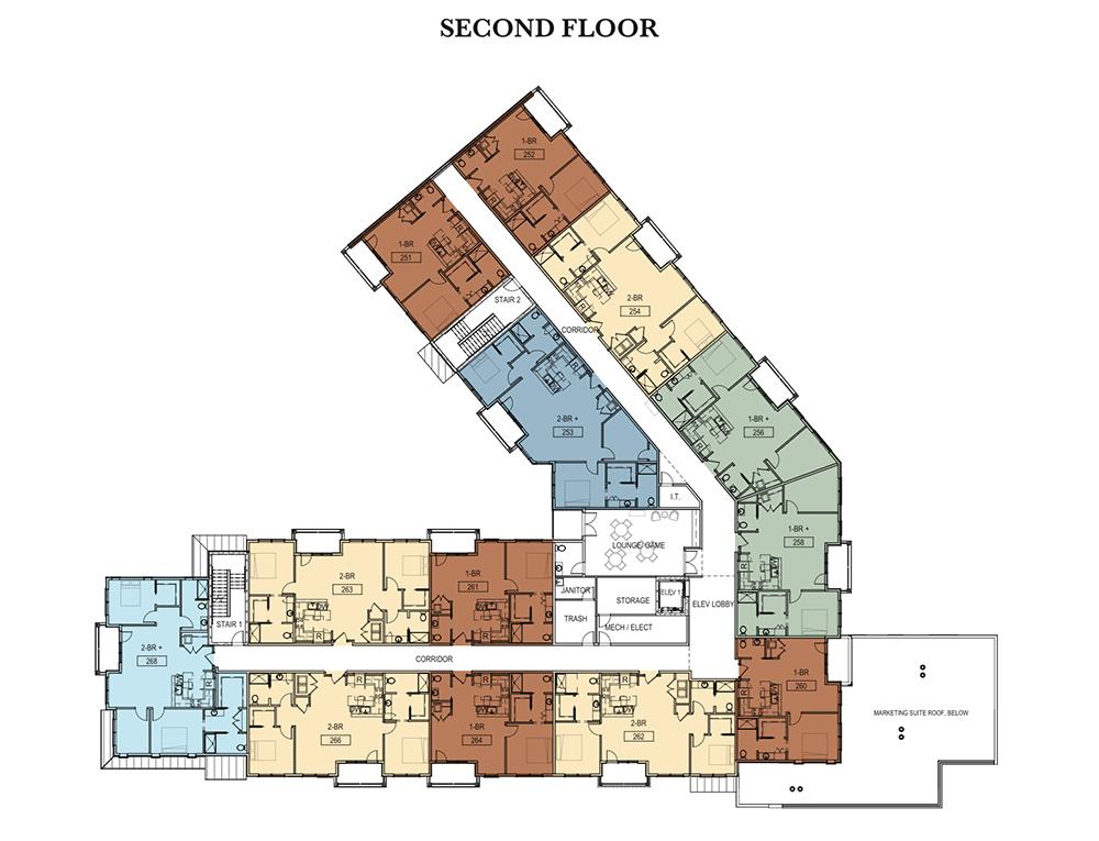 Second Floor Garden Court Apartments