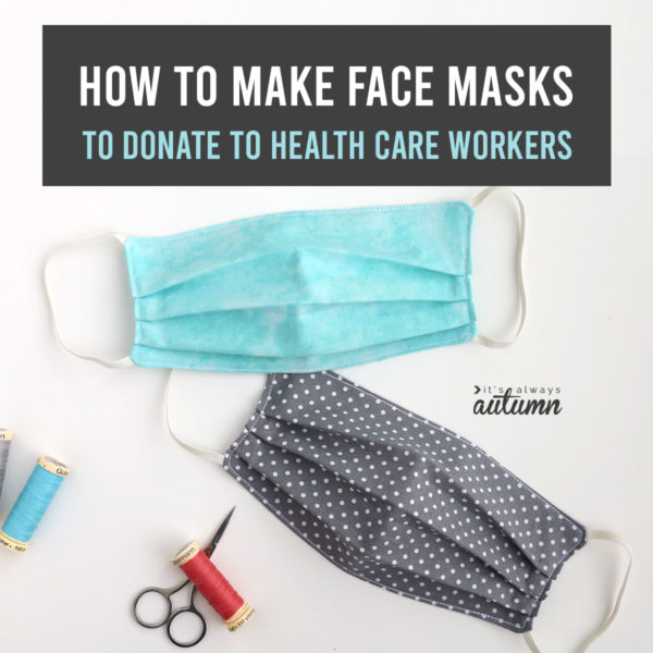 Do You Sew How To Make A Face Mask Frederick Living