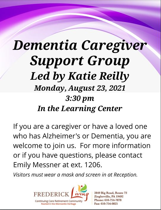 Dementia Support Group New